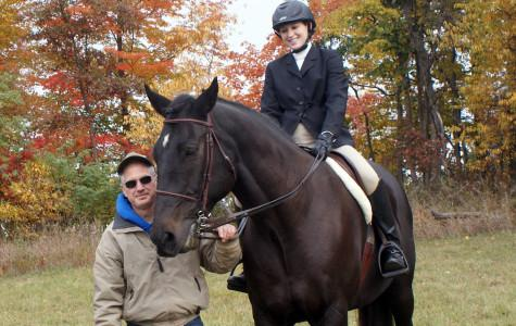 Horsing around: Science teacher experiments with farm life