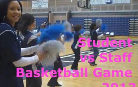 Southfield High School 2013 Student vs Staff Basketball Game .