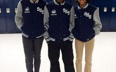SHS Senior Jackets Dress Up Hallways