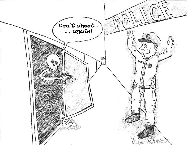 cop cartoon
