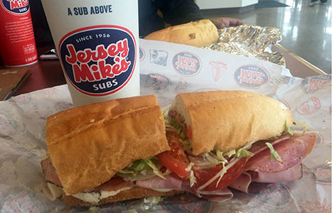 Sandwich in Some Time for a Jersey Mike's Sub