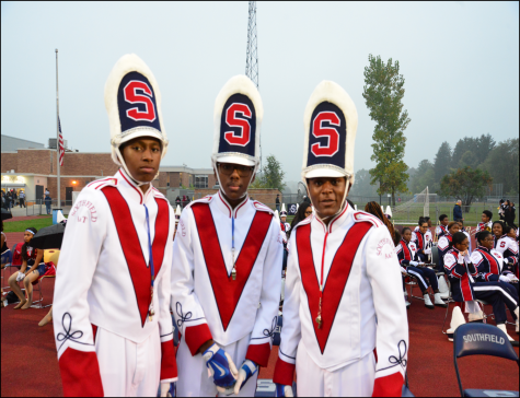 Southfield A&T Warriors show school pride