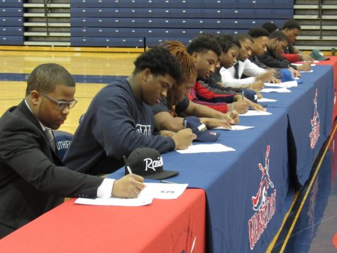 Young athletes take the next step during National Signing Day!