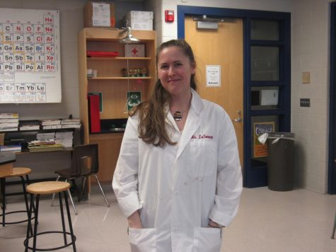 Ms. LaSovage is named High School Teacher of the Year!