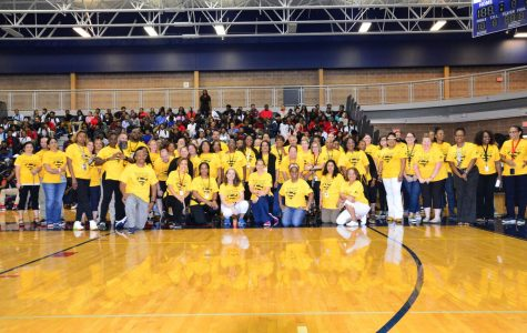 SHS A&T Warrior Pep Rally Staff