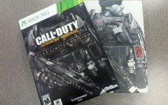 Duty Calls: The limited edition of Call of Duty Advanced Warfare comes with a collectible steel bookcase. It is priced at $80 at most stores. The original version is $60.