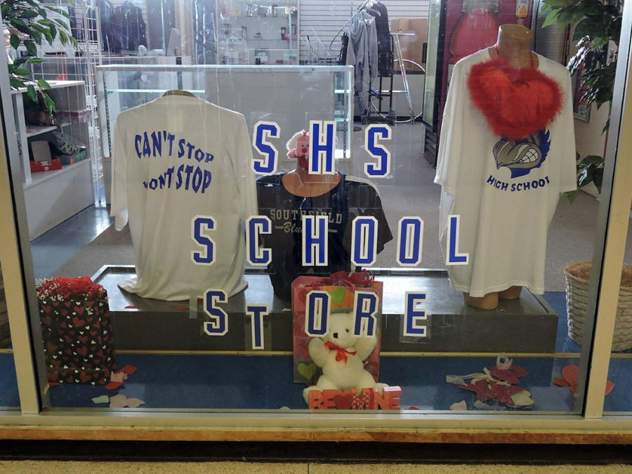 Window Shopping: The Turning Point school store is steps away from the school cafeteria, which is handy for students who want to shop during lunch.