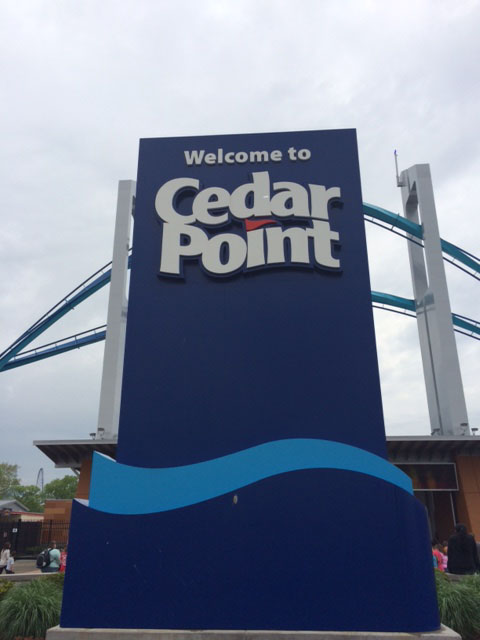 Southfield Highs Marching Band and choir went to Cedar Point on May 16