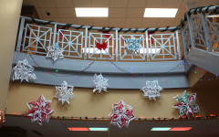 The Techno Jays Robotics Team decorated both high and low in their  assigned school hallway.