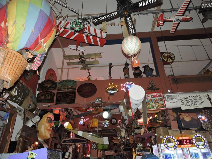 Visitors to Marvin's Marvelous Mechanical Museum can redeem their winnings for a superballs, eyeballs and other odds and ends. Especially odds.