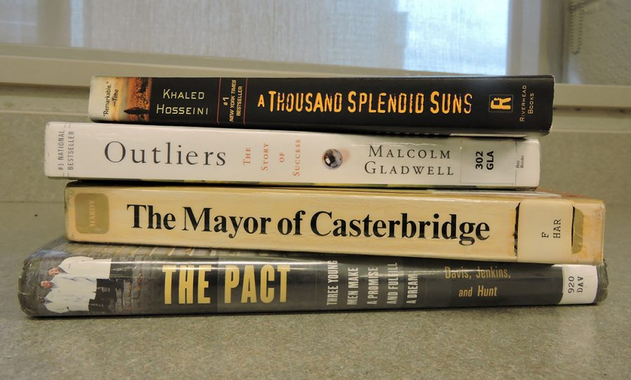 Which book students are supposed to read for summer reading homework depends on their grade and the English course they are taking. Some of the required titles are A Thousand Splendid Suns, Outliers, The Mayor of Casterbridge and The Pact.