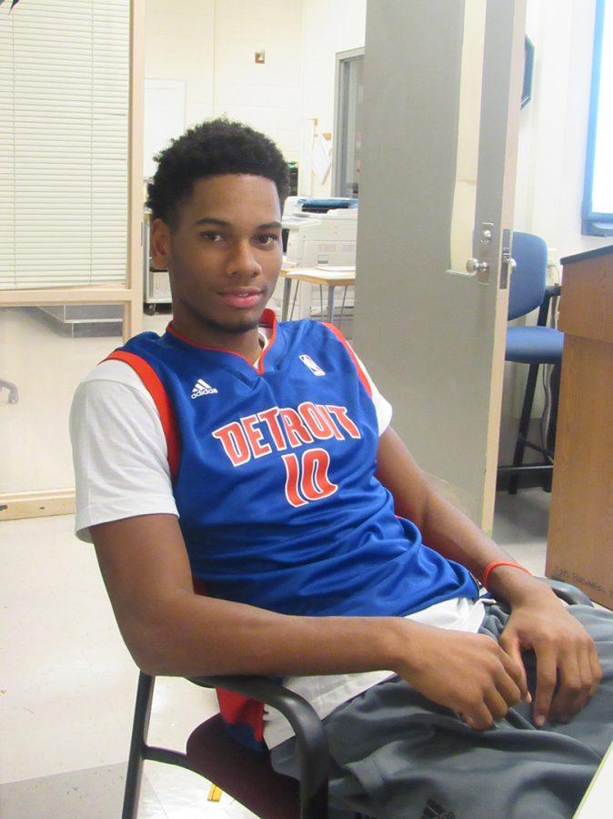 Students were encouraged to wear spirit wear for their favorite Detroit sports team for the kickoff of Spirit Week.