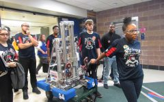 Robots Go Retro During This Year's Robotic Competition!!