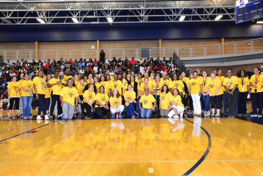 SHS+A%26T+Warrior+Pep+Rally+Staff